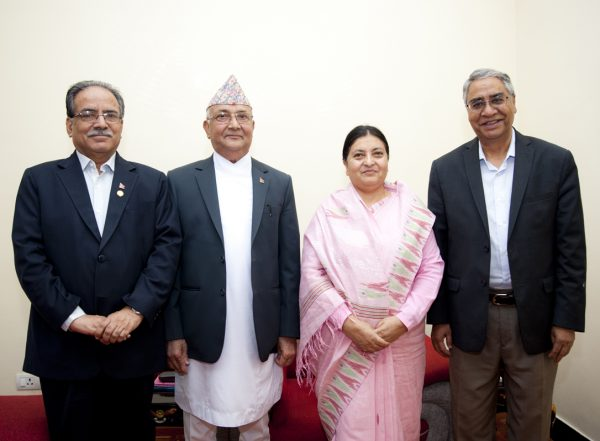 visit-of-nepalese-political-leaders-at-sital-niwas